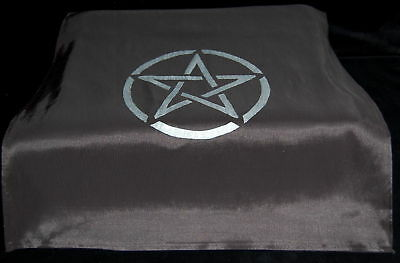 ALTAR CLOTH WITH PENTACLE DESIGN wicca pagan