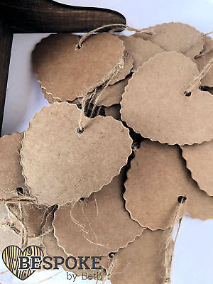 Wooden Or Card Hanging Hearts For Wedding Wish Guest Book Tree Hand Tied Love