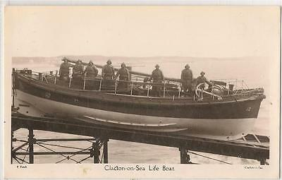 RP Postcard (F. Finch) Clacton-On-Sea. Life Boat