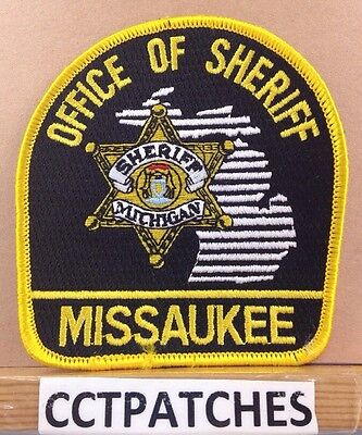 Missaukee County, Michigan Office Of Sheriff (Police) Shoulder Patch Mi