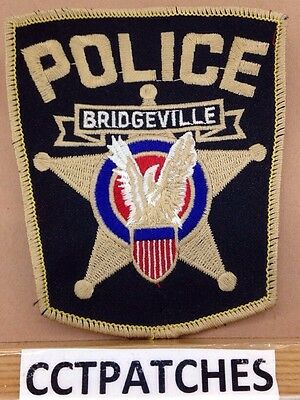 Bridgeville, Pennsylvania Police Shoulder Patch Pa