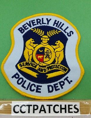 Beverly Hills, Missouri Police Shoulder Patch Mo