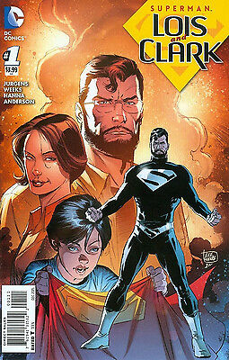 SUPERMAN LOIS AND CLARK #1 1st Appearance of JONATHAN KENT - REBIRTH SUPERBOY DC