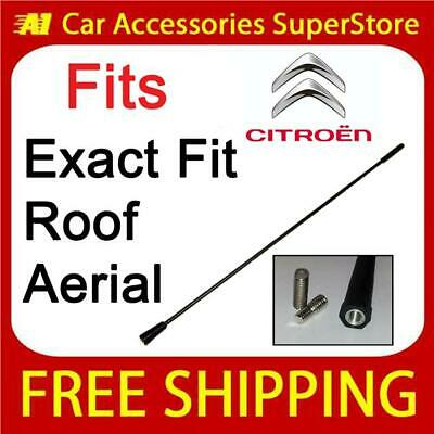GENUINE REPLACEMENT CAR ROOF AERIAL ANTENNA MAST CITROEN BERLINGO 41CM 16/""