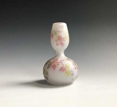 An Antique Art Glass Cameo Glass Vase
