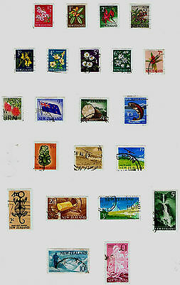 New Zealand 1960 to 1966 Postage Stamps - Used