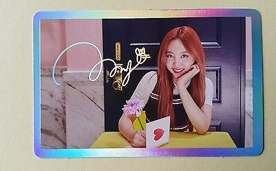 Twice SIGNAL 4th Mini Album Official Special Photocard - Nayeon