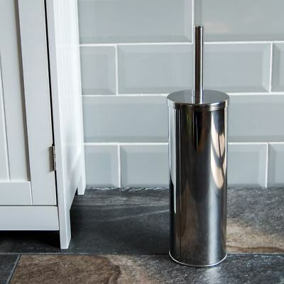 Toilet Brush Holder Stainless Steel Cleaning Brush Free Standing Bathroom
