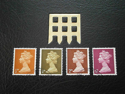 1968 Gb Stamps- 5Th Febuary  England-Definitives--Used