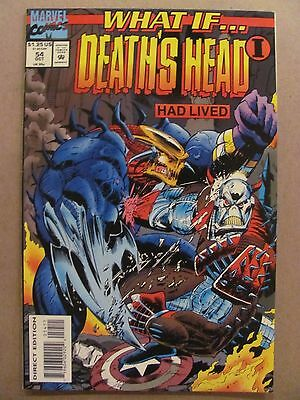 What if #54 Marvel 1989 Series Death's Head I Had Lived 9.4 Near Mint
