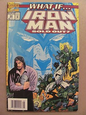 What if #64 Marvel 1989 Series Iron Man Sold Out Newsstand Edition 9.2 NM-