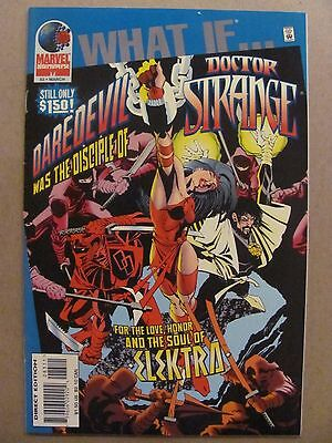 What if #83 Marvel 1989 Series Daredevil Was A Disciple of Doctor Strange 9.2 NM