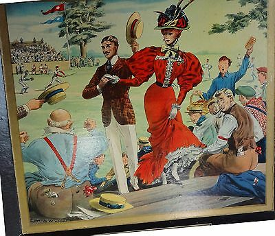 1948 Gunther Beer painting Baseball game