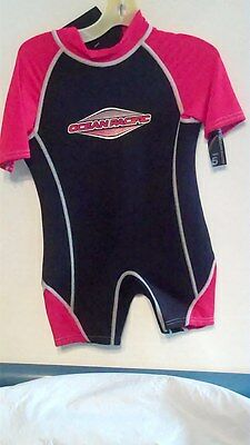Ocean Pacific Wet Suit   Size 5   Red & Black    New With Tags