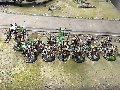 Warhammer 40k Death Guard Army forge World pro painted