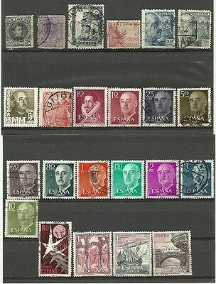 Spain Espana mint/used lot/collection 1901-1978 **2 scans**