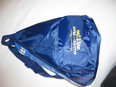 ROYAL CARIBBEAN ALLURE of SEAS sling bag back pack carry beach cruise line RCL
