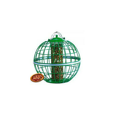Garden Things Classic Squirrel Proof Globe Nut Feeder Green