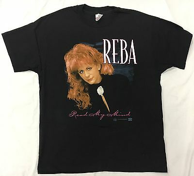 Vintage REBA Read My Mind CONCERT 1994 T-shirt Size Extra Large USA