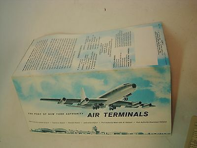 1962 The Port Authority Air Terminals Brochure
