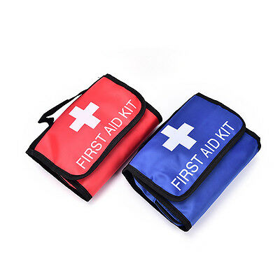 1x outdoor wilderness survival first aid kit medical bag rescuing equipment W&T