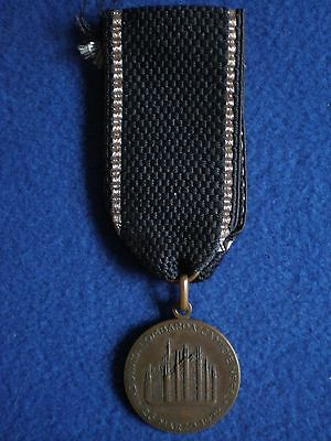 Italy: Medal for the Camicie Nere (Black Shirts) March on Milan 26 March1922.