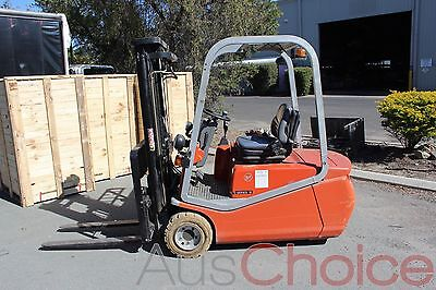 BT CBE18T 1.8T Electric 4.3m 3 Stage Container Mast Counterbalance Forklift