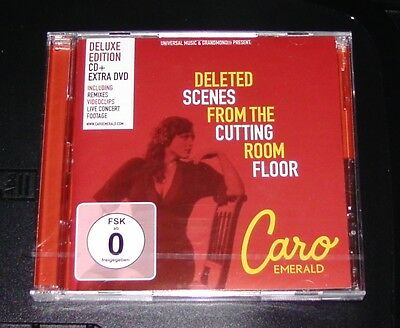 Caro Emerald Deleted Scenes From The Cutting Room Floor Cd + Dvd Neu & Ovp