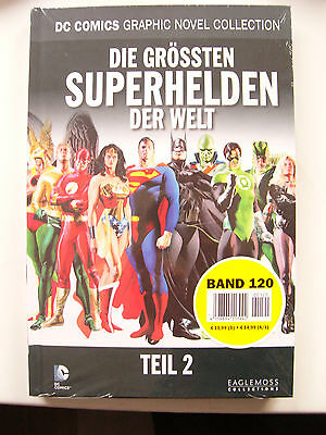 DC Comics Graphic Novel Collection 120 Die grössten SUPERHELDEN der Welt Teil 2
