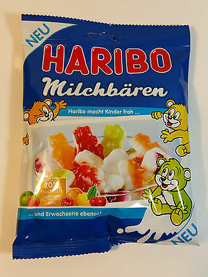 HARIBO MILCHBÄREN - CANDY WINE GUMS 6oz - 175g - MADE IN GERMANY -