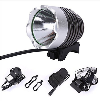 Cree LED XML T6 Mountain Bike Bicycle Cycling Rechargeable Front Head Light Lamp
