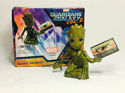 GUARDIANS OF THE GALAXY BABY GROOT 3D Magnet Nerd Block EXCLUSIVE May 2017