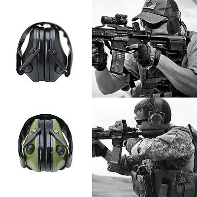 Shooting Hunting Sport Tactical Noise Canceling Electronic EarMuffs Protection