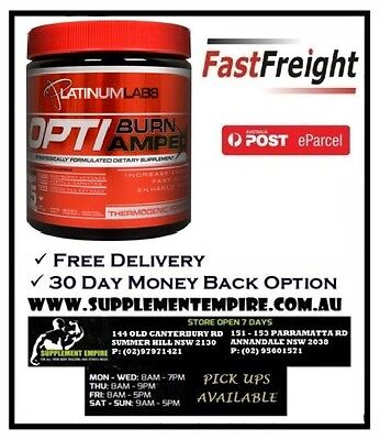 Platinumb Labs Optiburn Amped Thermogenic/fat Burner Pick Up In Sydney Available