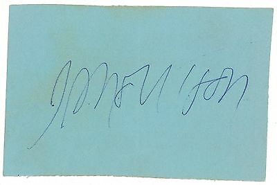 Jim Morrison The Doors Authentic Autograph/ Signed While Still On Stage In 1967