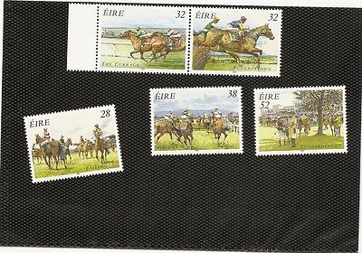 lot chevaux d' IRLANDE   neufs ** MNH 2 scans