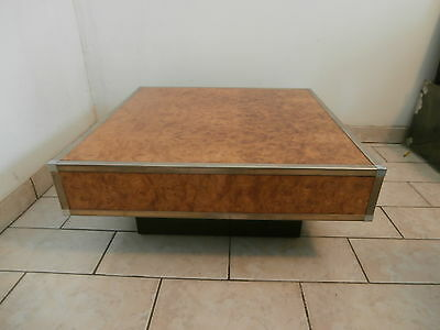 Table Basse Vintage style Willy Rizzo