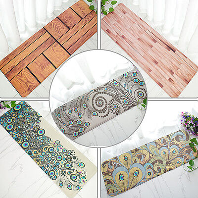 40x120cm Non Slip Doormats Bedroom Kitchen Bath Mat Rug Pad Entrance Hall Runner