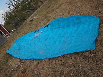 Hq Matrixx II 17m 2015 foil kite with bar and lines