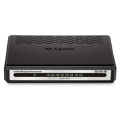 Switch D-Link 8 ports 10/100/1000 - GO-SW-8G