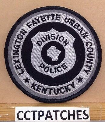 Lexington Fayette Urban County, Kentucky Police Subdued Shoulder Patch Ky