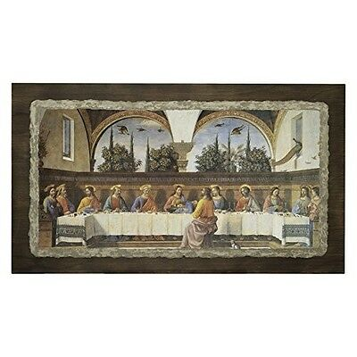 Ars Martos Reproduction The Last Supper Fresco on Plaster Width 85 cm Height 50