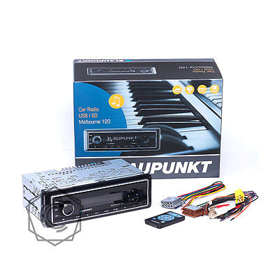 Blaupunkt Melbourne 120 Radio, USB, AUX input and MP3 Playback Car Stereo (New)