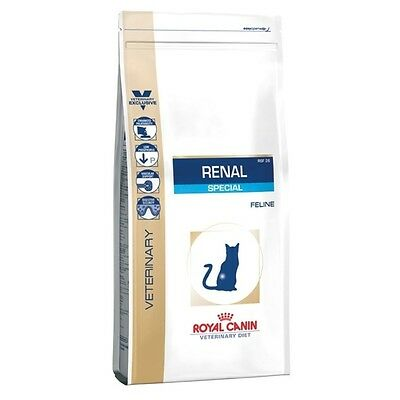 Royal Canin - Croquettes Veterinary Diet Renal Special pour Chat - 4Kg