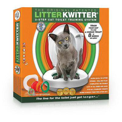 Litter Kwitter - Kit de Toilette pour Chat
