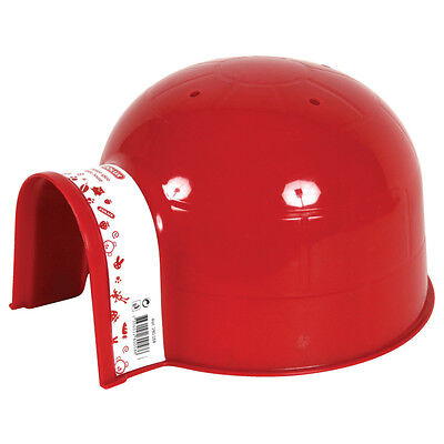Zolux - Igloo en Plastique GM - Cerise