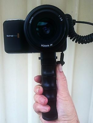 BLACKMAGIC MOVIE CAMERA as new with Nikor 28mm original lens and accessories