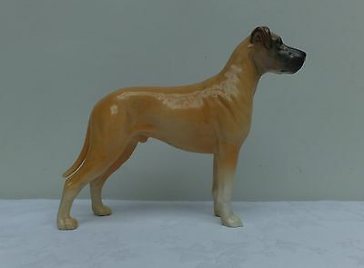 Hand Painted Beswick Dog Great Dane Ruler Of Oubouroug  # 968