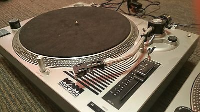 KAM DDX700 Direct Drive Turntable X2