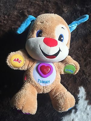 Fisher Price Educational Teddy Bear All Features Functioning Well